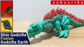 Shin Godzilla Fusion Godzilla Earth ชินก็อตซิลล่า ฟิวชั่น ก็อตซิลล่า เอิร์ท  : StopMotion