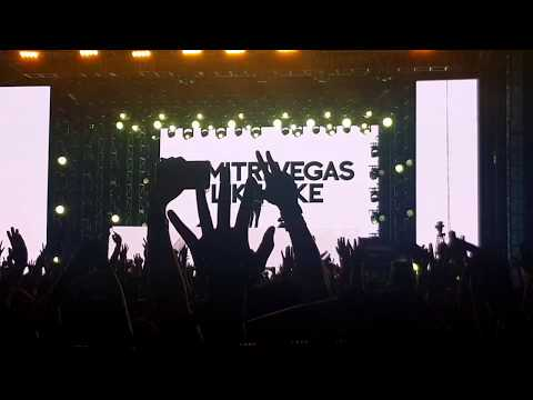 Video Dimitri Vegas & Like Mike Vs David Guetta New Song -instagram