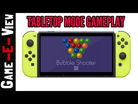 Bubble Shooter DX - TableTop Mode Gameplay