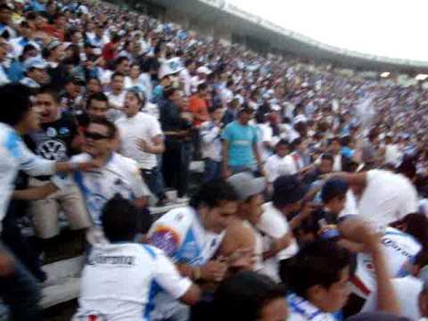 """""""MALKRIADOS - MIRA LA BANDA - PUEBLA MI BUEN AMIGO - (BARRAS UNIDAS)"""" Barra: Malkriados • Club: Puebla Fútbol Club"""