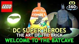 Lego DC Super Heros 360º 4K Virtual Reality - BATMAN - #VR #360Video