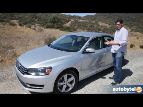 2013 Volkswagen Passat TDI Midsize Sedan Video Review