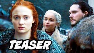 Game Of Thrones Season 8 Teaser - Sansa Stark Promo and Daenerys Easter Eggs Breakdown