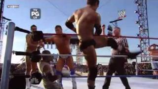 Randy Orton John Cena Rey Mysterio VS Wade Barrett The Miz Alberto Del Rio