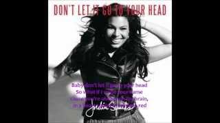 Jordin Sparks - Don't Let It Go To Your Head Lyrics HQ