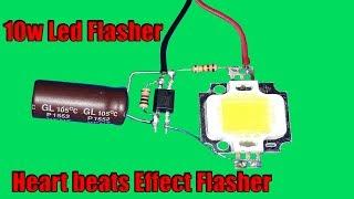 superb-diy-10w-led-light-effect-circuit-heart-beats-effect-flasher