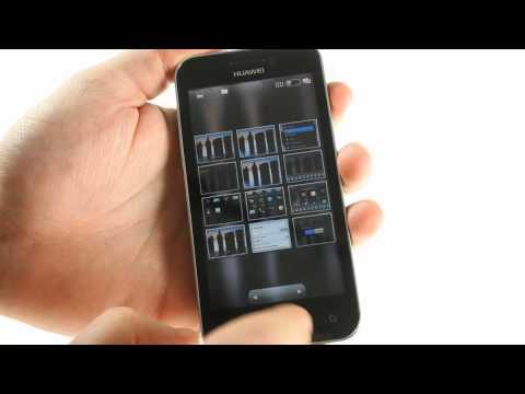 Huawei U8860 Honor user interface