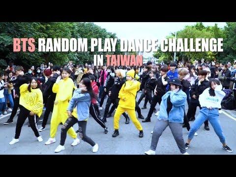 [KPOP IN PUBLIC] BTS Random Play Dance Challenge in Taiwan