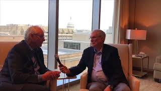 Ken Ham Meets With the CEO of Pureflix