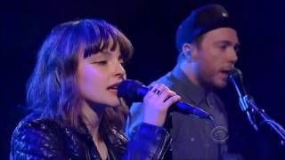 Chvrches We Sink Live on TV in HD