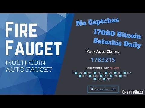 Random Satoshi (like Fire Faucet) Multi Auto Faucet 2019 (earn