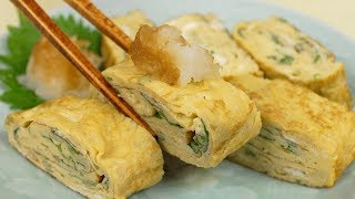 Tamagoyaki (Japanese omelette)   Cooking with Dog