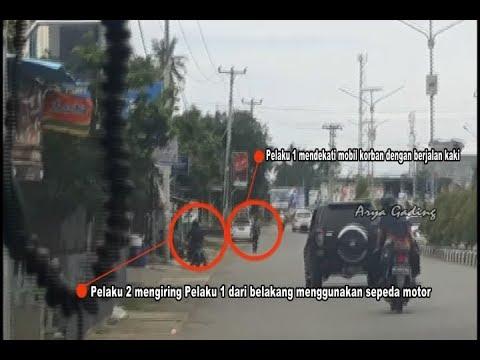 DETIK-DETIK PERAMPOK NASABAH BANK DI BENGKULU SELATAN DIBEKUK POLISI