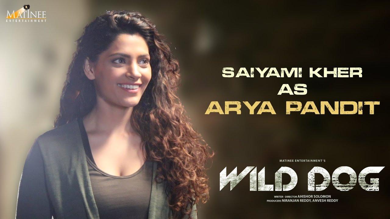 Saiyami Kher as ARYA PANDIT | Wild Dog