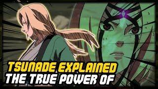 The True Power of Tsunade The Fifth Hokage!