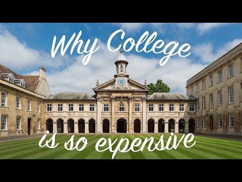 Why College is so Expensive