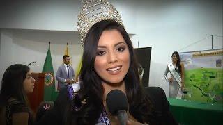 María Alejandra Lopez, Miss World Colombia fue homenajeada en Risaralda