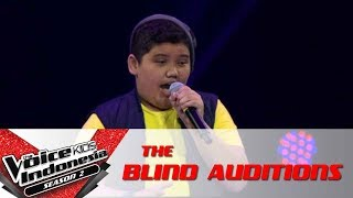 """Jojo """"Forget You""""   The Blind Auditions   The Voice Kids Indonesia Season 2 GlobalTV 2017"""