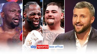 Who should Dillian Whyte fight next?   Nelson & Froch react to Whyte's win over Alexander Povetkin