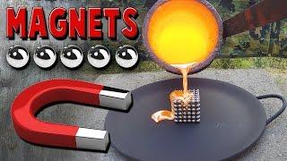 Molten Copper vs Neodymium Magnets aka Buckyballs / NeoCube / Zen Magnets - Video Youtube