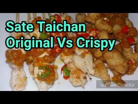 Video Resep Sate Taichan Crispy | Battle Sate Taichan Original Vs Crispy