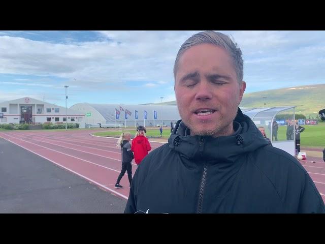Donni: Æfðum það hvernig við ætluðum að búa til fleiri færi