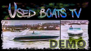 2005 Cobalt 262 Live Video Boat Test Drive Presentation - How to drive a boat - Instructional Video