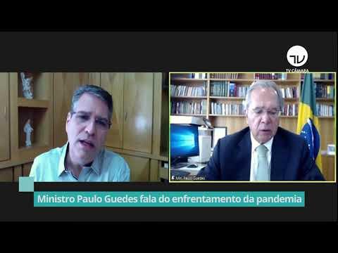 Ministro Paulo Guedes fala do enfrentamento da pandemia - 29/10/20