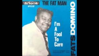 Fats Domino  -  The Fat Man - [Nashville version .1964]