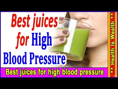 Video Best juices for high blood pressure