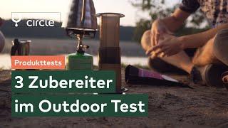 3 Kaffee Zubereiter im Outdoor Camping Test: Mokakanne vs. AeroPress vs. Handpresso