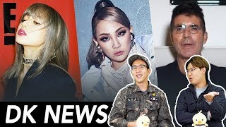 BLACKPINK Wins 3 PCA Awards (feat. ARMY) / Simon Cowell Challenges KPOP / CL Leaves YG [DK NEWS]