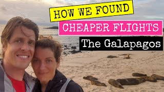 How to get Cheap Flights to The Galapagos 2021 | Travel Hack - Baltra & San Cristobal Galapagos