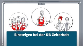 Als 100%ige Tochter ist die DB Zeitarbeit Dein Sprungbrett zur Deutschen Bahn.