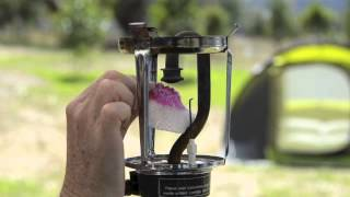Changing A Mantle On A Gas Lantern (Camping Lighting Part 3)