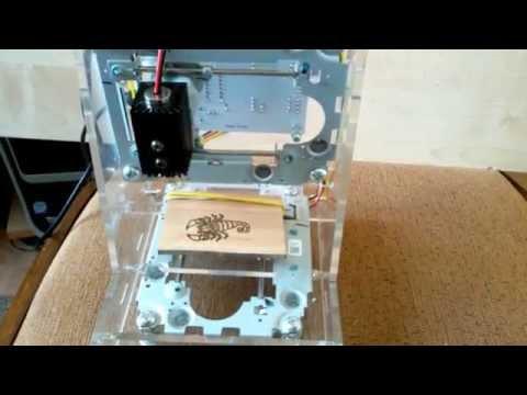 DIY Mini laser 200-250MW engraving machine       http://ali.pub/ewjp4