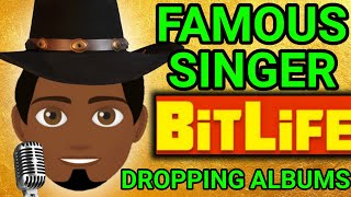 pop star update is here! bitlife becoming a famous singer! going on tour, dropping albums!