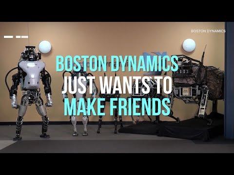 Tällainen on Boston Dynamicsin robottiperhe – Uskomattomia vehkeitä!