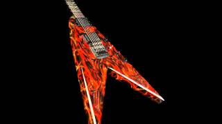 Heavy metal hard rock backing track in Dm