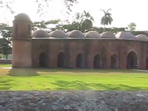 Shat Gambuj Mosque Bagerhat Bangladesh