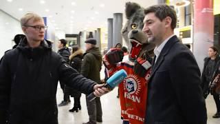 Встреча ХК «Арлан» - обладателя Континентального Кубка