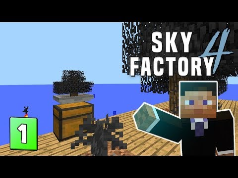 SkyFactory 4 - Are You Afraid of the Dark | STAMP TUBE