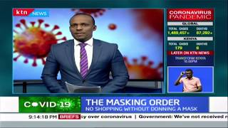 The masking order: Some Kenyans not bothered by directive while defying containment measures