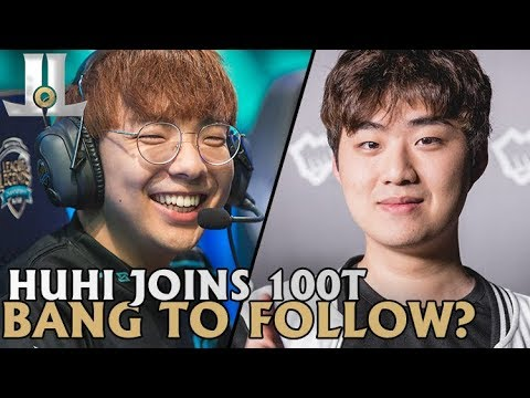 Huhi Joins 100T, Bang Looks Set to Follow | 2019 LoL Offseason