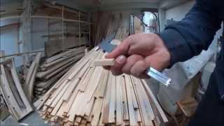 Каноэ лодка деревянная