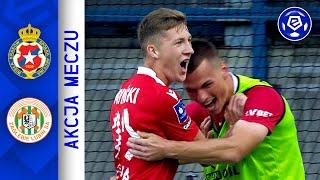 Wideo: Wisła K. - Zagłębie 0:3   Ekstraklasa 2021/22   1. Kolejka