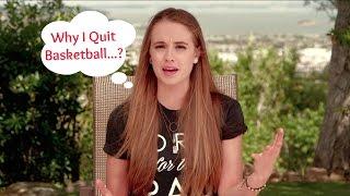 WHY I QUIT BASKETBALL // Rachel DeMita