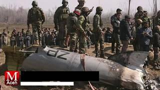 India-Pakistan Saling Tembak Jatuh Pesawat di Kashmir