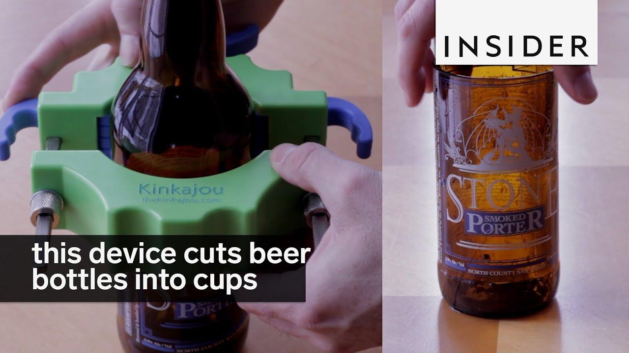 Устройство для изготовления стаканов из бутылок