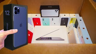 *FINDING IPHONE 12?* APPLE STORE DUMPSTER DIVING JACKPOT! (FOUND iPHONES, AIRPODS, AND MACBOOKS)